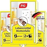 PIC Lebensmittel-Mottenfalle - Dreierpack = 6 Stück - Mittel zur...