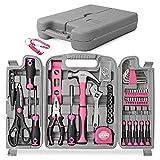 Hi-Spec 53-teiliges Werkzeugset in Pink/Rosa. Allgemeine...
