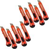 Alaskaprint 10X Stück Cuttermesser 18mm klinge Cutter Messer...