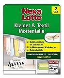 Nexa Lotte Kleider- & Textil-Mottenfalle, Insektizidfreie Klebefalle...