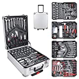 Hengda Werkzeugkoffer 1031 teilig Alu Werkzeugkasten Werkzeugkiste...